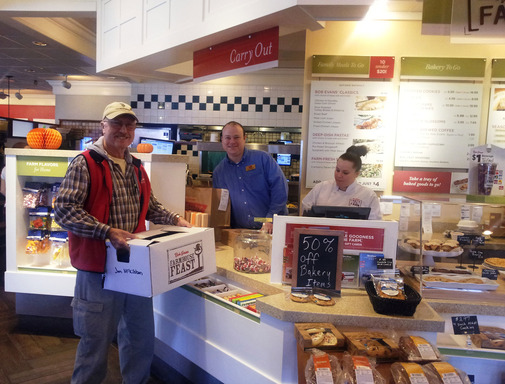 Bob Evans kicks off Farmhouse Feast donation program.