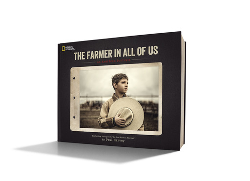 "The Farmer in All of Us: An American Portrait, is a beautiful and comprehensive collection of original agriculture, farming photography, including many images commissioned by the Ram Truck brand and inspired by Paul Harvey's ""So God Made a Farmer"" essay."