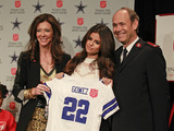 Selena Gomez with Charlotte Jones Anderson and Major Ron Busroe