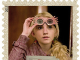 Beloved Harry Potter character Luna Lovegood is featured on one of the 20 Harry Potter limited-edition Forever stamps.