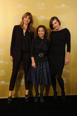Eva Padberg, Desiree Bollier, Milla Jovovich 10 Jahre Wertheim Village Chic Outlet Shopping