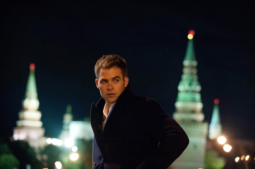 Chris Pine plays Jack Ryan in JACK RYAN: SHADOW RECRUIT, from Paramount Pictures and Skydance Productions. © MMXIII Paramount Pictures Corporation. All Rights Reserved.