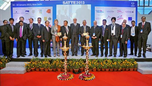 Inauguration Ceremony at SATTE 2013