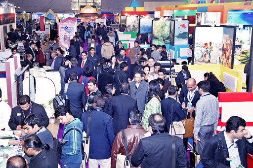 Overwhelming response of Business Visitor at SATTE 2013