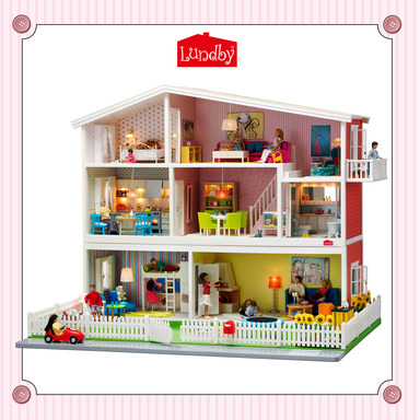 """Families can enjoy interactive play this holiday season with classic toys like The Lundby Smaland dolls house."""