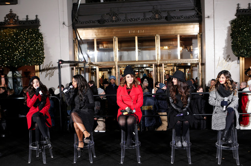 Fifth Harmony at Lord & Taylor's 2013 Holiday Window Unveiling