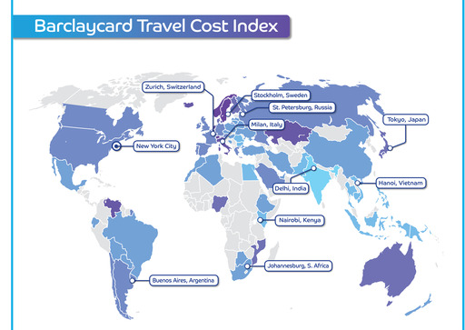Barclays Travel Index