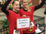 Jingle Bell Run/Walk participants - All I want for Christmas is a Cure!