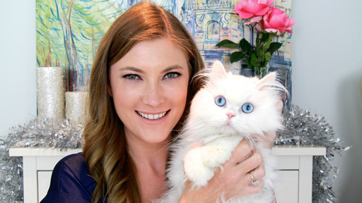 Feastivities is being hosted by popular online glamour and beauty expert Elle Fowler and her cat Pinecone.