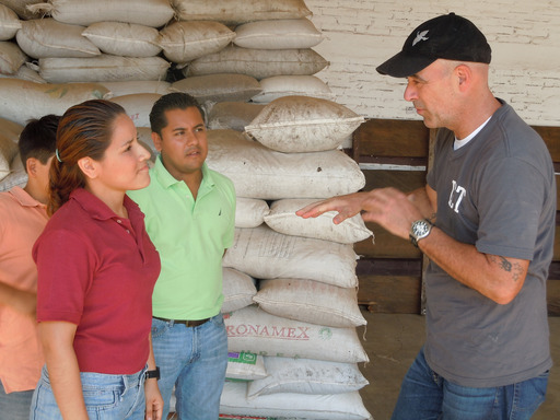 Todd Carmichael talks to the staff of Atoyec's Maquila de Cafe hoping to find his coffee contact only to learn that his contact was recently murdered