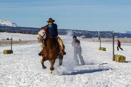 Idaho: Host Bert Kreischer gets his thrill on skijoring in Idaho.