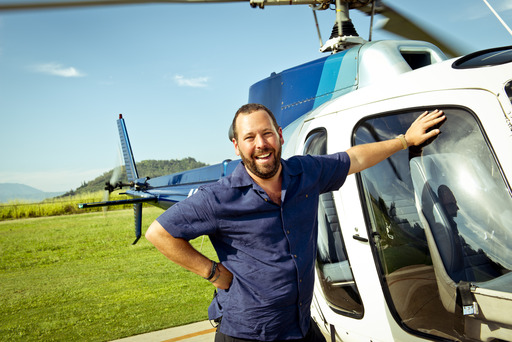 "Bert Kreischer, host of Travel Channel's ""Trip Flip."""