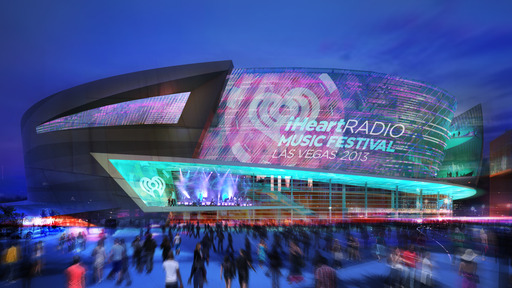 Rendering of the new Las Vegas arena, a 20,000-seat sports and entertainment venue scheduled to open in 2016 is a partnership between AEG and MGM Resorts International.