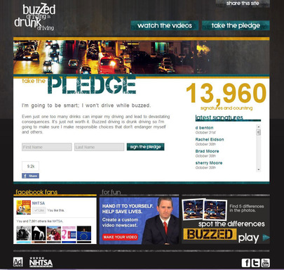 Pledge Web Site