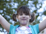 Emily Whitehead, age 8, 20 months after T Cell Therapy treatment