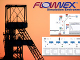 Flownex Simulation Environment can be used to optimize and understand a variety of mining systems, including mine ventilation and water management.