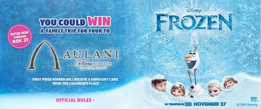 Win a Family Trip for Four to Aulani