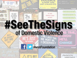 #SeeTheSigns, an Avon global social media campaign, will educate people about the often hidden signs of domestic violence.
