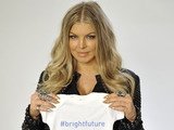 Global superstar and new mom Fergie hopes for a #brightfuture for her infant son and children everywhere.