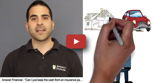 This video explains the difference between comprehensive and collision auto insurance. (90 seconds)