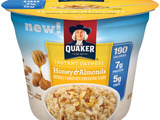 Quaker Instant Oatmeal Cups Honey & Almonds