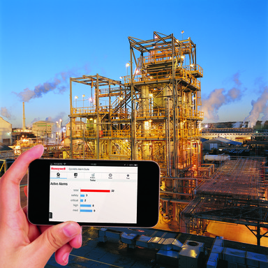 Honeywell DynAMo Alarm Suite is mobile device-compatible, so personnel can view alarm metrics at any time, from almost anywhere.