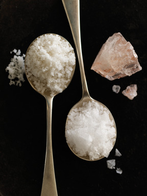 Sea Salt emerged as one of the top less traditional flavors/ingredients this holiday season, along with bacon and bourbon/whiskey (©Mark Ferri Photography)