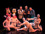 "La Nouba by Cirque du Soleil at Downtown Disney at Walt Disney World Resort celebrates its 15th anniversary with a ""Magical Moment"" on stage with Mickey Mouse and Minnie Mouse."