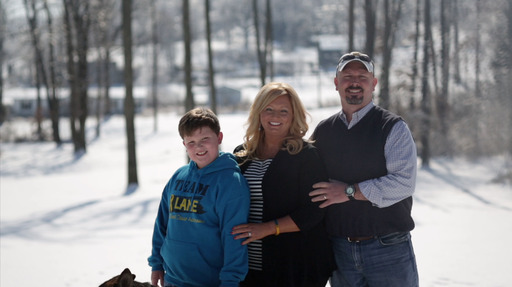 Along with her husband George and son, Landen, Angie has inspired supporters around the world, raising more than $180,000 to aid children with all types of cancer.
