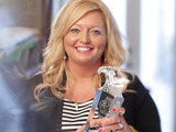 Eagle Rare Kentucky Straight Bourbon Whiskey has named Angie Goodwin of Calhoun, Ky., as the winner of the Grand Prize 2014 Rare Life Award. Eagle Rare will donate $40,000 to Goodwin's charity, Thumbs Up for Lane Goodwin Childhood Cancer Foundation.