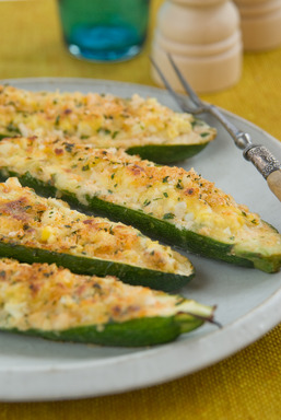 Ingrid Hoffmann's recipe for Feel Good Stuffed Zucchini is perfect for any type of gathering!