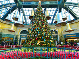 Las Vegas' largest indoor holiday tree at Bellagio's Conservatory & Botanical Gardens