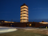 Marking winter solstice, the longest night of the year, SC Johnson relit its Frank Lloyd Wright-designed Research Tower, which will soon open for public tours for the first time in its history