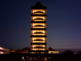 On longest night of the year, SC Johnson illuminates historic Frank Lloyd Wright Research Tower and anticipates first ever public tours in spring 2014.