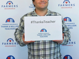 Actor/Comedian Jack Black encourages America to follow Thank A Million Teachers conversation at #ThankaTeacher.