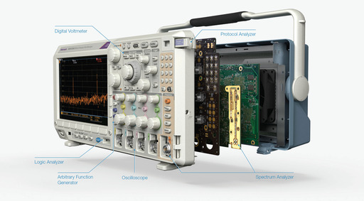 MDO3000 Series of Mixed Domain Oscilloscopes is the  ultimate 6-in-1 integrated oscilloscope