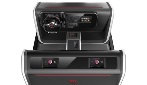 The Future of Kia Infotainment Displayed in Interactive Style