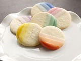 Ombre Candy Dipped Cookies