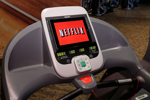 Get fit with Netflix