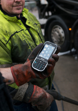 The NAUTIZ X4 is made for the mobile field worker. This ergonomic rugged handheld is the right tool for the job