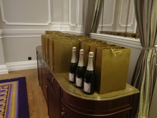 No event is complete without Champagne & goody bags!