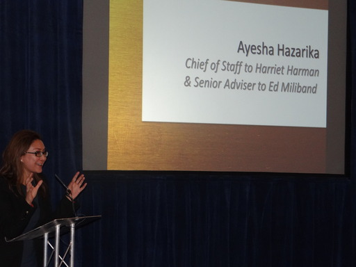 Labour Party political adviser Ayesha Hazarika shares her views