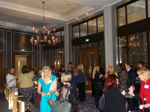 WPR Members networking at the glamorous Corinthia Hotel