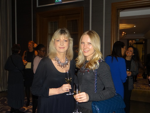 PRCA Chairman and Grayling CEO Alison Clarke with ICCO General Manager Anastasia Demidova