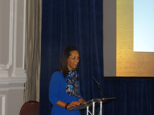 Helen Grant MP for Women & Equalities, inspires the audience