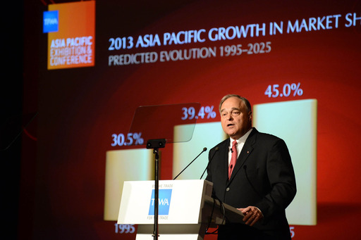 Erik Juul-Mortensen, President TFWA, predicts duty free & travel retail sales growth in Asia Pacific