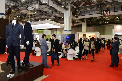 Nearly 2,700 trade visitors browsed the products of the 260 prestigious exhibiting companies
