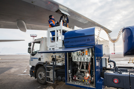 Gazpromneft-Aero refueling of foreign airlines in Russia up 6-fold in 2013