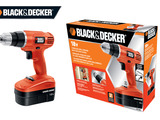Previous Black & Decker logo, product design and packaging