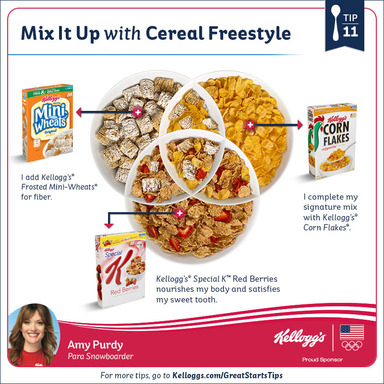 Tip 11: Mix It Up With Cereal Freestyle